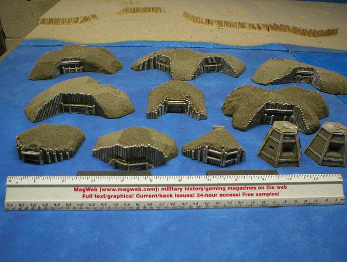 20mm Japanese Bunkers