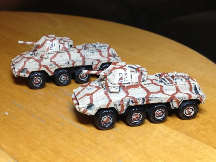 234 Scout Cars