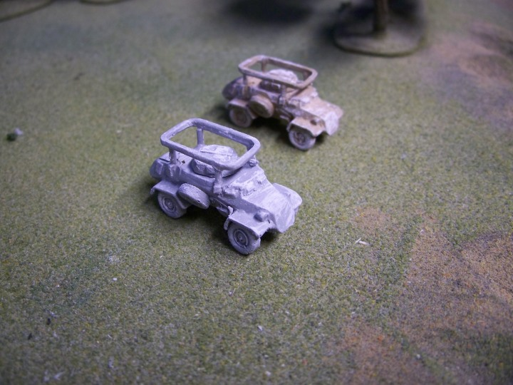 German Sd Kfz 223 Scout Car w/Radio