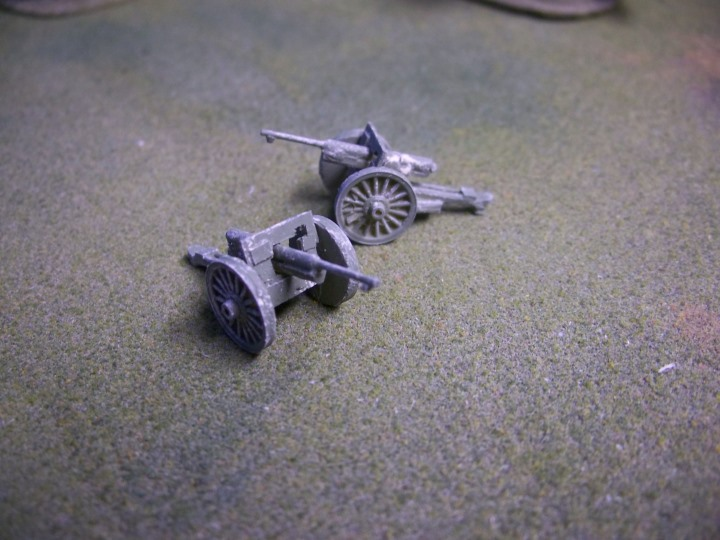 French 75mm 1897 Artillery